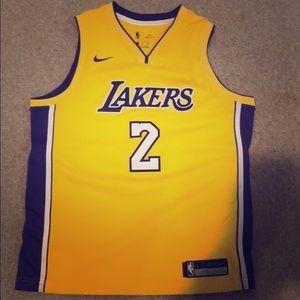 Lonzo Ball Swingman NBA Authentic Lakers Jersey